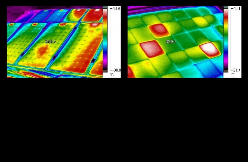 infrared film and thermography Infrared thermography is equipment or method, which detects infrared energy emitted from object, converts it to temperature, and displays image of temperature distribution to be accurate, the equipment and the method should be called differently.